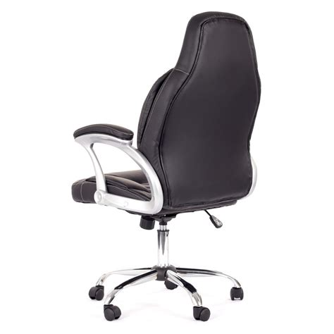 my sit office chair venecia faux leather in black office