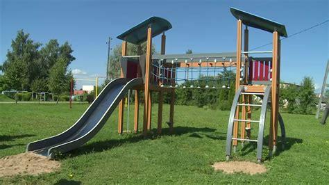 Bērnu rotaļu laukumi Daugavpils novadā - YouTube