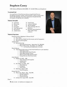 Ministry Resume Templates Stephen Casey Resume Main