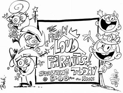 Loud Fairly Crossover Oddparents Fop Parents Tlh
