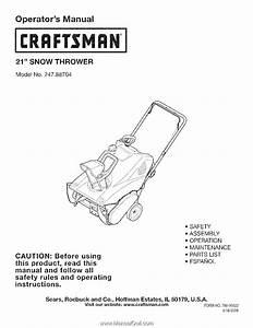 Craftsman 88704