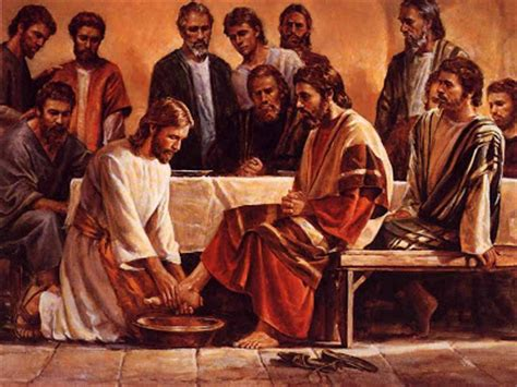 At The Master's Feet Why Did He Do That? (jesus Washed