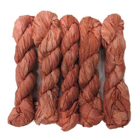 recycled sari silk ribbon   yards color
