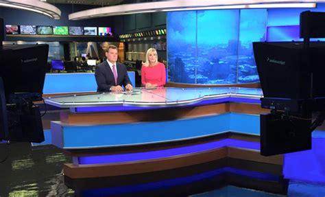 Louisville Cbs Gets Newsroom Set Update