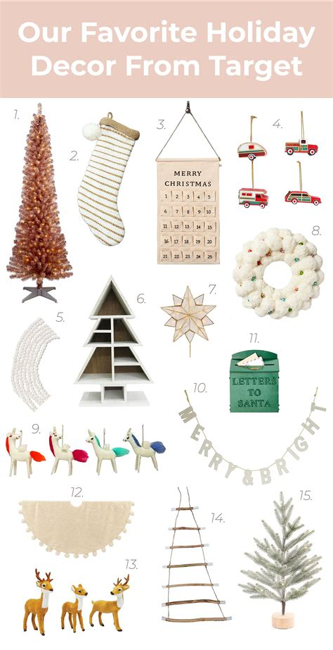 holiday decor  target