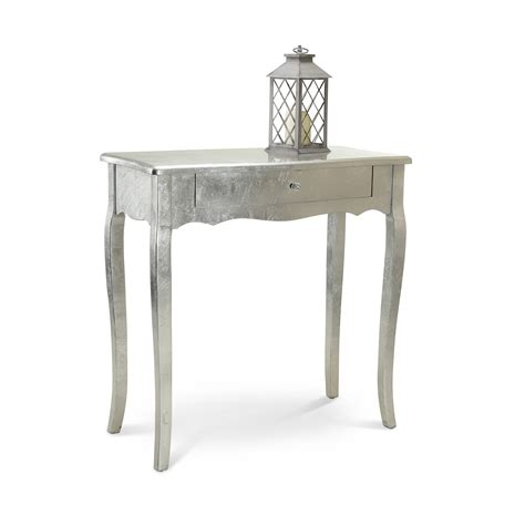 shabby chic livingroom silver console table dressing tables bedroom furniture
