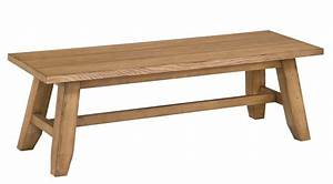 Broyhill Ember Grove Wood Seat Dining Bench 4333-595