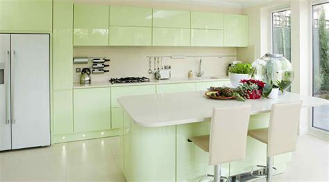 15 Pastel Green Kitchens For A Lighter Look  Home Design