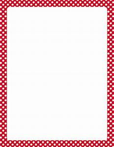 Free Polka Dot Borders: Clip Art, Page Borders, and Vector ...