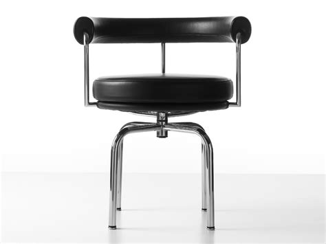 buy the cassina lc7 swivel chair at nest co uk