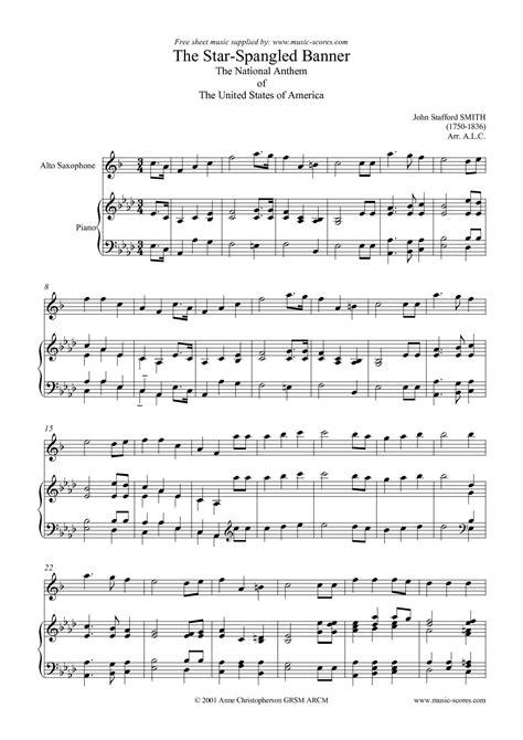 Calaméo - Star Spangled Banner (alto sax)