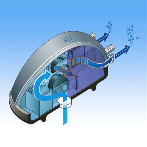 installation pompe a air aquarium rena air 50