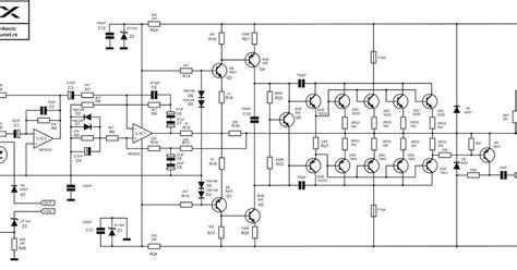 rangkaian power skema apex b 500