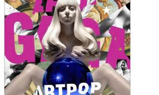 Lady Gaga Art-Pop Album Cover
