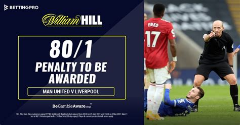 How To Get 80/1 On A Penalty Awarded During Man Utd v ...