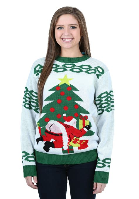 ugly light up christmas sweaters santa ugly christmas sweater