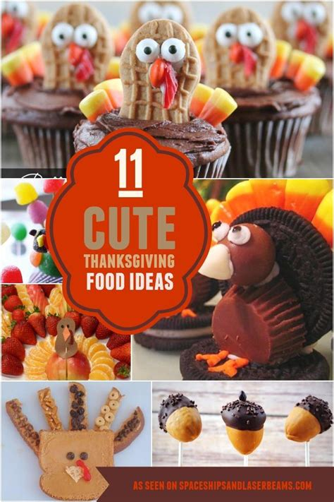 cute thanksgiving party food ideas spaceships
