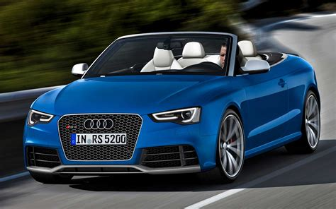 2018 Audi Rs 5 Cabriolet Front Motion View Photo 4