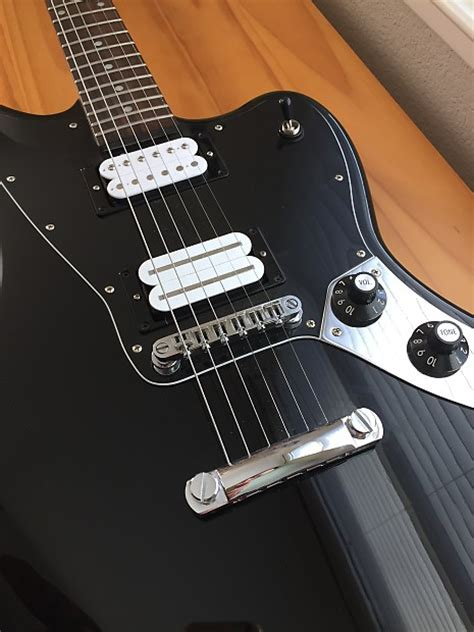 Fender Jaguar Hh Blacktop by Custom Fender Blacktop Hh Jaguar 2013 Black Reverb