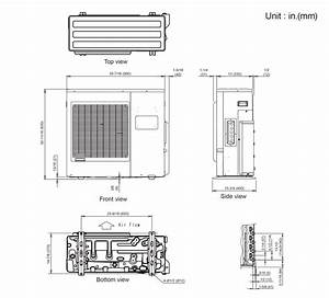 Split Air Conditioner Dimensions