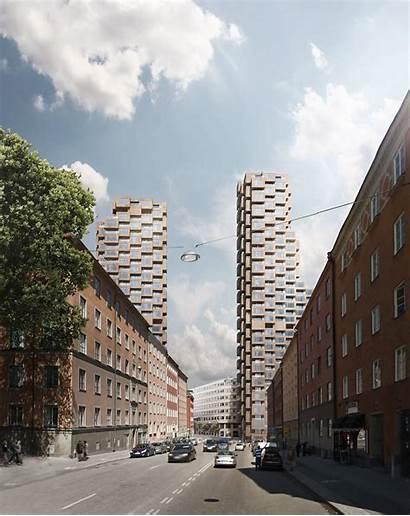 Norra Tornen Oscar Properties Helix Oscarproperties Stockholm