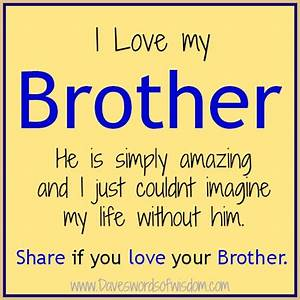 I Miss My Brother Quotes And Sayings. QuotesGram