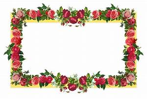 Rose Flower Borders - Cliparts.co