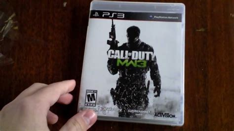 Call Of Duty Modern Warfare 3 Unboxing (ps3) Youtube