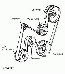 2001 Buick Park Avenue Belt Diagram