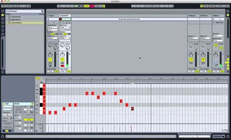 fold  piano roll    scale  ableton
