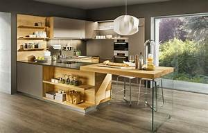 Cuisine Plan De Travail Bois : pourquoi choisir une cuisine avec plan de travail bois ~ Dailycaller-alerts.com Idées de Décoration