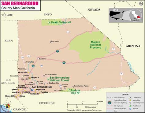 buy san bernardino county map