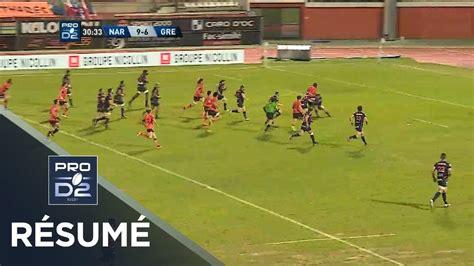 Rugby pro d2 was introduced in 2000. PRO D2 - Résumé Narbonne-Grenoble: 29-29 - J24 - Saison 2017/2018 - YouTube