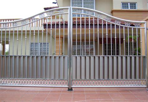 latest design stainless steel gate modern designs