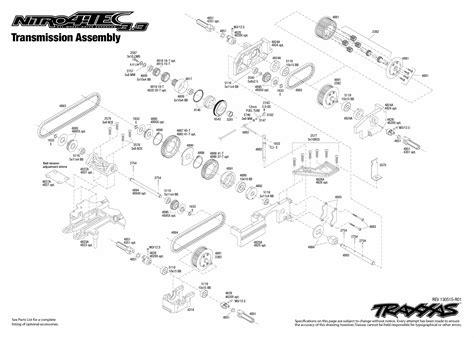 Parts Diagram For Traxxas Slash 2wd