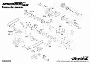 Traxxas 1  10 Scale 4wd Nitro 4-tec 3 3 On Road Sedan