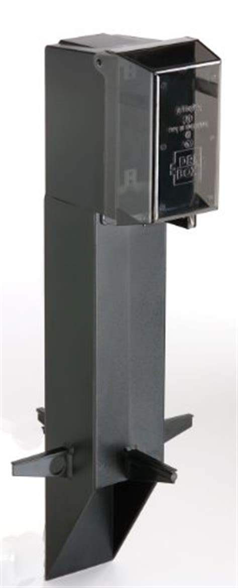 outdoor l post with outlet arlington gpd19b 1 gard n post outdoor landscape lighting