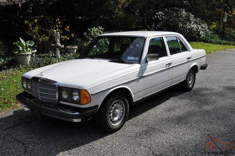 It is a 6 cylinder turbo charged diesel and it was only available in 1987. Mercedes-Benz : 300-Series TURBO DIESEL
