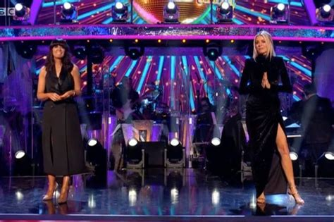 Strictly fans 'stunned' by Tess Daly and Claudia Winkleman ...