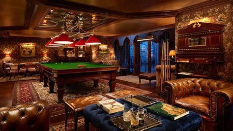 hotel ashford castle irska billiard room snooker room