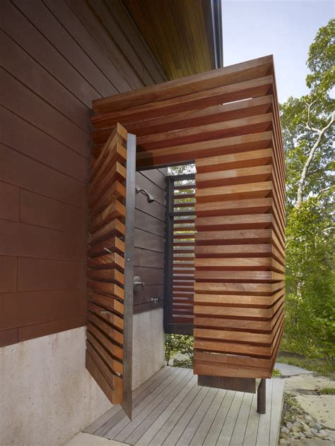 spice up your backyard with these cool outdoor showers