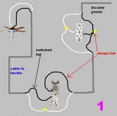 Diagram For Wiring An Schematic Powering Switch by Wiring A Light Switch To Lights And
