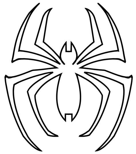 spider man spider logo template comic book hero symbols