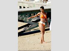Halle Berry Orange Bikini, White Belt Bapwatch