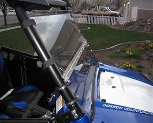 Folding Windshield For Polaris Rzr 800
