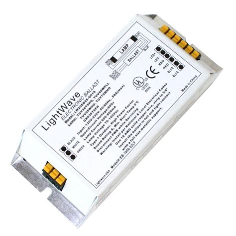 lightwave 100602 eb 1006 02lf t5 fluorescent ballast