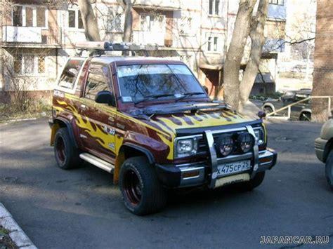 1991 Daihatsu Rocky by 1991 Daihatsu Rocky Pictures 1600cc Gasoline Manual