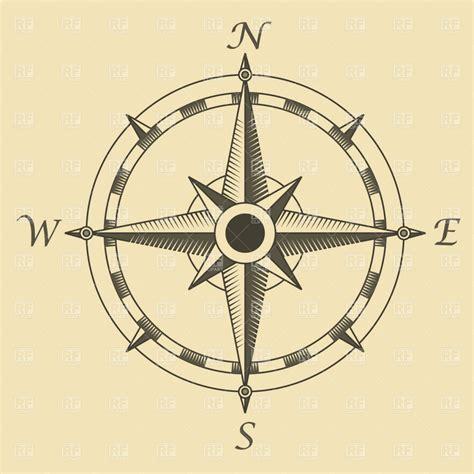 Vintage Compass Rose
