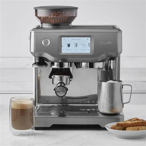barista espresso machine breville barista touch espresso maker williams sonoma