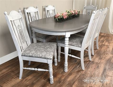 black chalk paint kitchen table 7 oval dining set in sloan chalk paint in